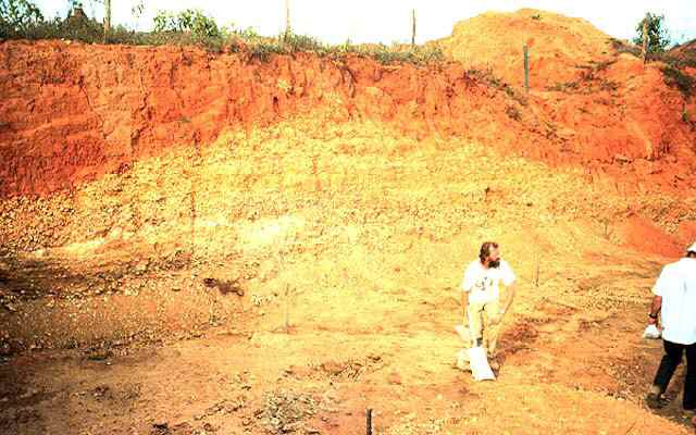 infiltration rate in laterite soil